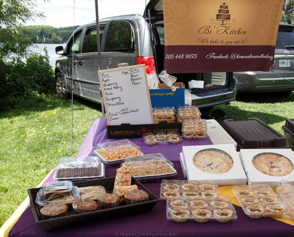 B's Kitchen at Haliburton County Farmers' Market in Haliburton, Ontario