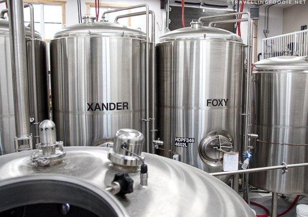 Brewery Tour at Haliburton Highlands Brewing