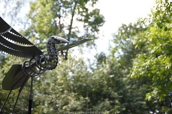 Flying Debris by Leo Sepa at Haliburton Sculpture Forest