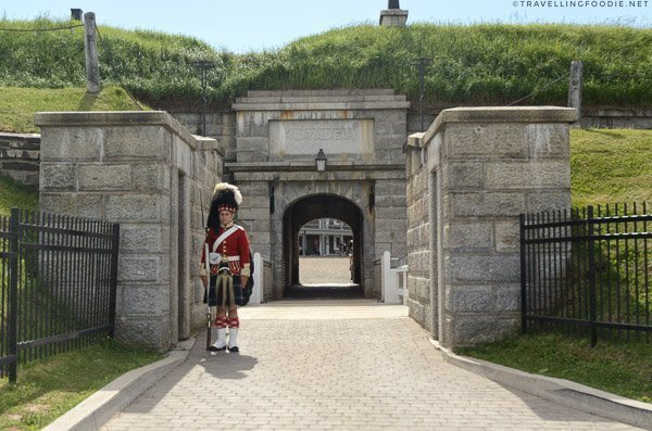 Halifax Citadel Entrance in Halifax, Nova Scotia
