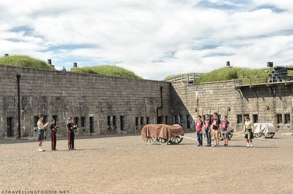 Halifax Citadel military training in Halifax, Nova Scotia