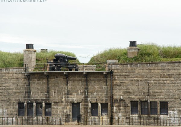 Noon Gun at Halifax Citadel National Historic Site, Nova Scotia