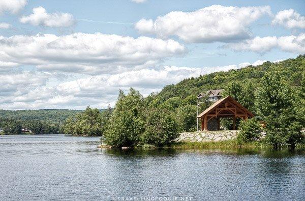 Bandshell at Head Lake, Haliburton, Ontario