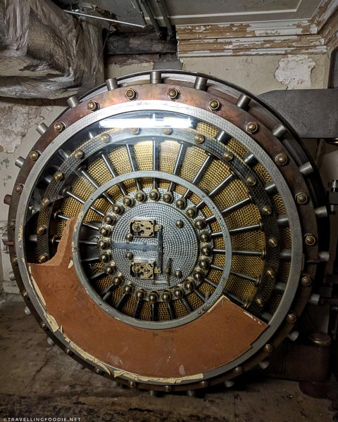 Historic Secret Vault Door in Jacksonville, Florida