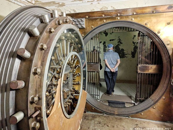Secret Bank Vault at Atlantic National Bank in Jacksonville, Florida