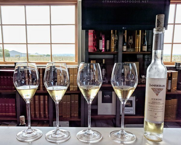 2017 Riesling Ice Wine at Inniskillin Wines in Niagara-on-the-Lake, Ontario