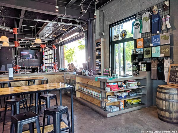 Intuition Ale Works Tap Room in Jacksonville, Florida