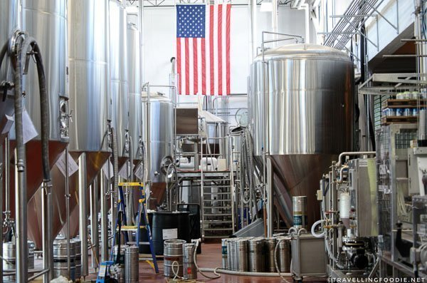 Brewing Facility at Intuition Ale Works in Jacksonville, Florida