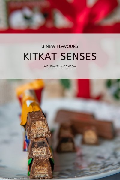 KITKAT Senses - 3 New Flavours - Holidays in Canada
