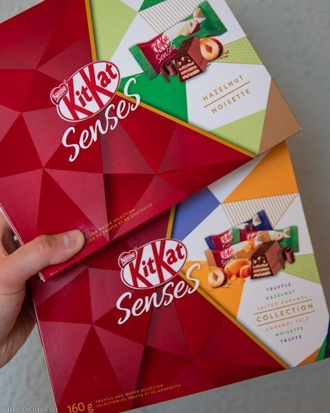 KITKAT Senses Assorted Collection and Hazelnut Boxes