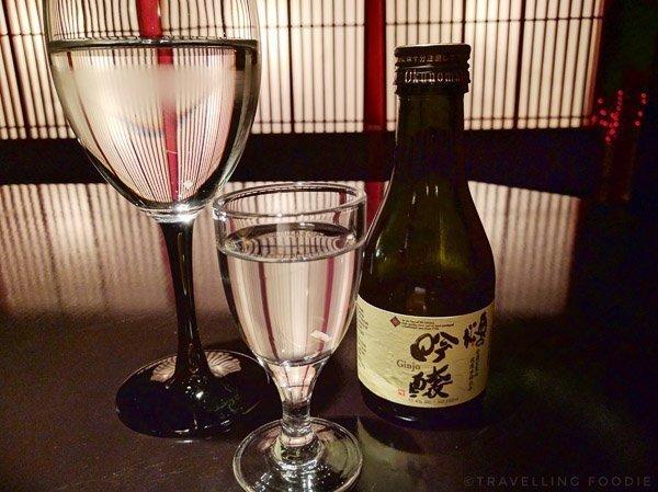Ginjo Sake