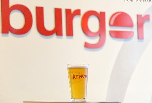 Krave Lager from Krave Burger in Halifax