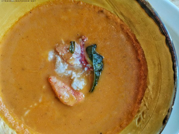 Lobster Bisque from Little Fish Oyster Bar at Five Fishermen in Halifax