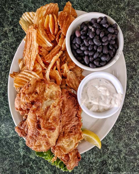 Fish & Chips at Metro Diner in San Marco, Jacksonville, Florida