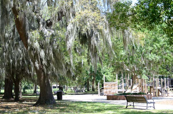 Riverside Park in Five Points district in Jacksonville, Florida