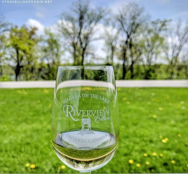 2015 Angelina's Reserve Gewurztraminer at Riverview Cellars in Niagara-on-the-Lake, Ontario