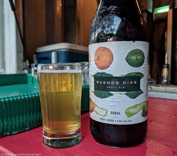 Beau's All Natural: Buenos Dias Gruit Ale