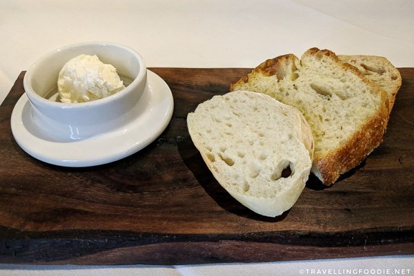Homemade bread at SixThirtyNine in Woodstock, Oxford County, Ontario