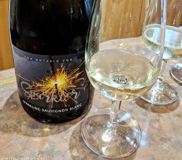 2016 Sparkler at Strewn Winery in Niagara-on-the-Lake, Ontario