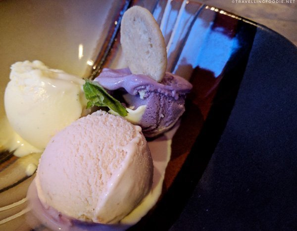 Homemade Ice Cream Trio from Studio East Food + Drink in Halifax
