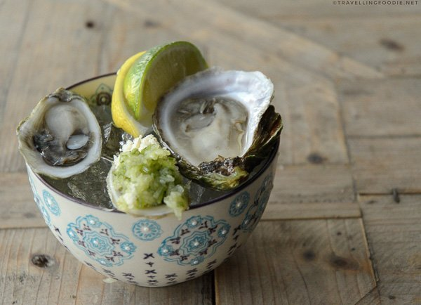 Local Oyster of the Day from Studio East Food + Drink in Halifax