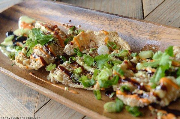 Chicken Crisps from Studio East Food + Drink in Halifax, Nova Scotia