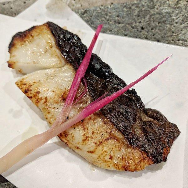 Black Cod at Sushi Bar Zipang in Calgary, Alberta