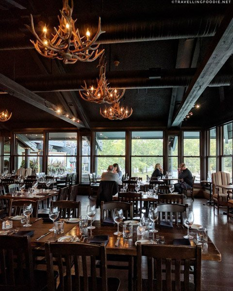 Interior at The Lake House in Calgary, Alberta