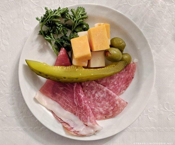 Cheese and Charcuterie course at Dante Club in Timmins, Ontario