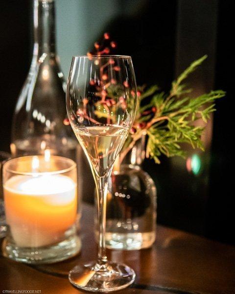 Sake Pairing in The Restaurant at Pearl Morissette