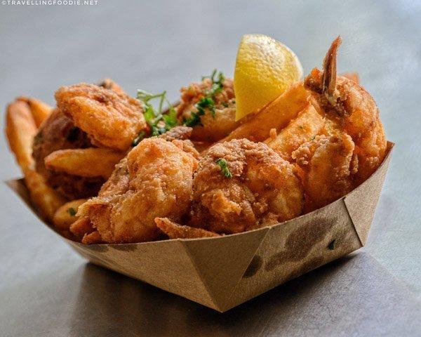 Shrimp Basket at Timoti's Seafood Shak in Jacksonville, Florida