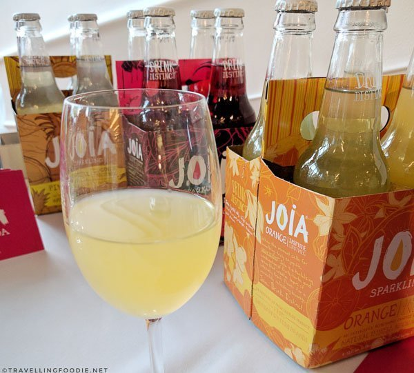 Orange Soda from Joia All Natural Soda at Toronto Taste 2017