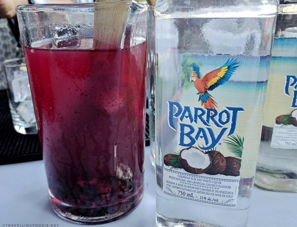 Parrot Bay Cocktail from Against The Grain Urban Tavern at Toronto Taste 2017
