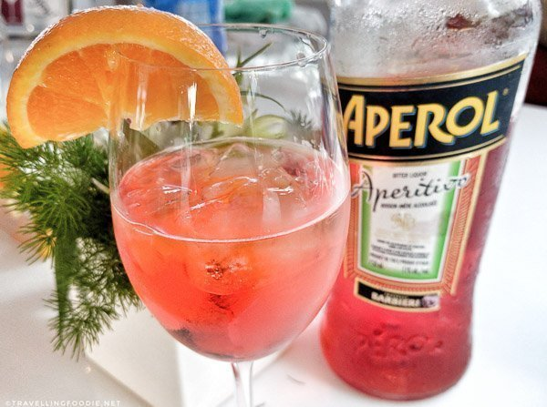 Aperol Spritz from Delta Lounge at Toronto Taste 2017