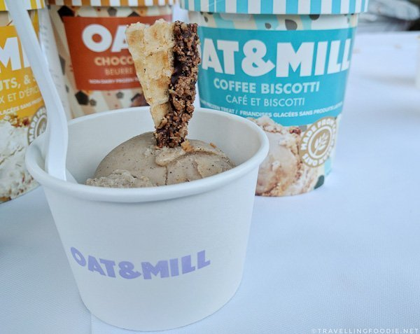 Coffee Biscotti Ice Cream from Oat & Mill at Toronto Taste 2017