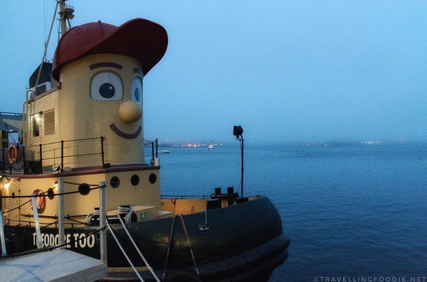 Theodore Tugboat in Halifax, Nova Scotia