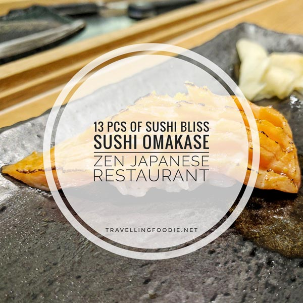 Sushi Omakase at Zen Japanese Restaurant in Markham, Ontario