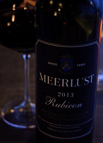 Meerlust Rubicon at AquaTerra in Kingston, Ontario