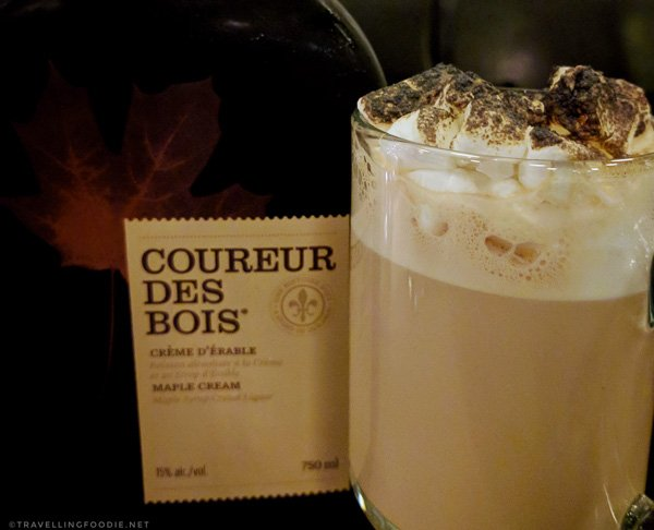 Latte des bois at Auguste Restaurant in Sherbrooke, Quebec