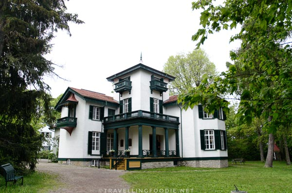 Bellevue House National Historic Site in Kingston, Ontario