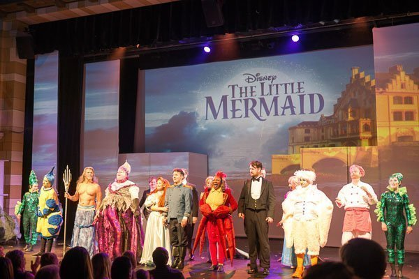 Cast of The Little Mermaid at Capitol Theatre in Port Hope, Ontario