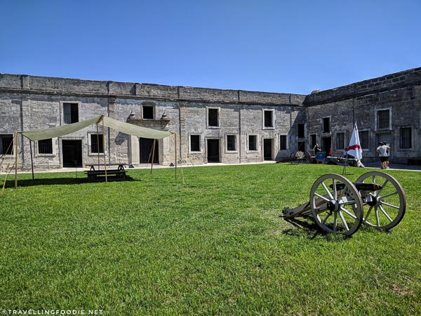 Grounds of Castillo de San Marcos