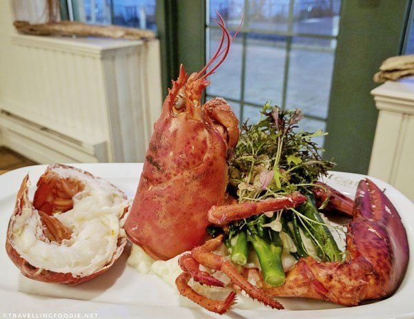 Whole Lobster at [catch] Urban Grill in Delta Hotel in Fredericton, New Brunswick