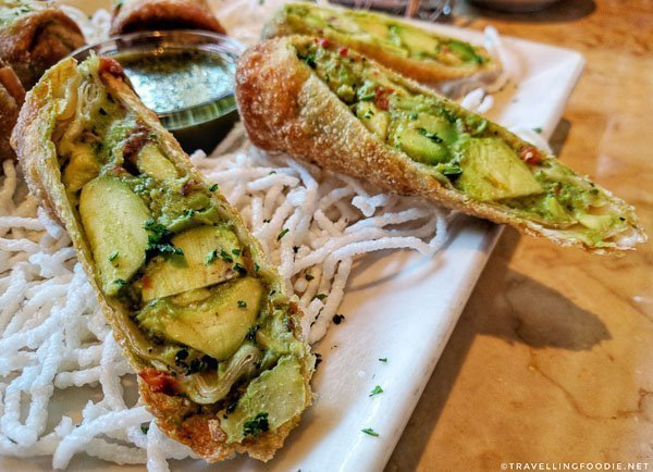 Avocado Eggrolls from The Cheesecake Factory in Toronto, Ontario