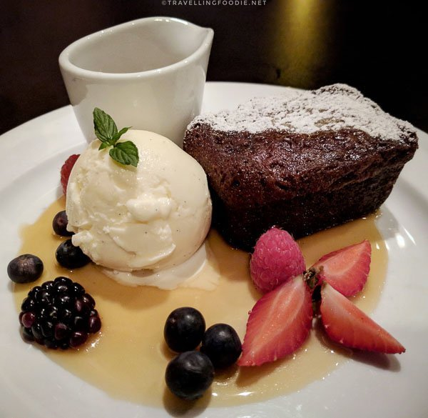 Sticky Toffee Pudding at East Coast Bistro in Saint John, New Brunswick