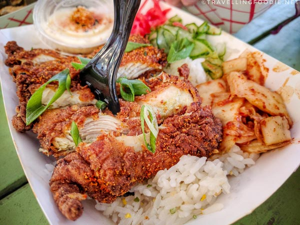 Katsu Meshi from East Side King at Liberty in Austin, Texas