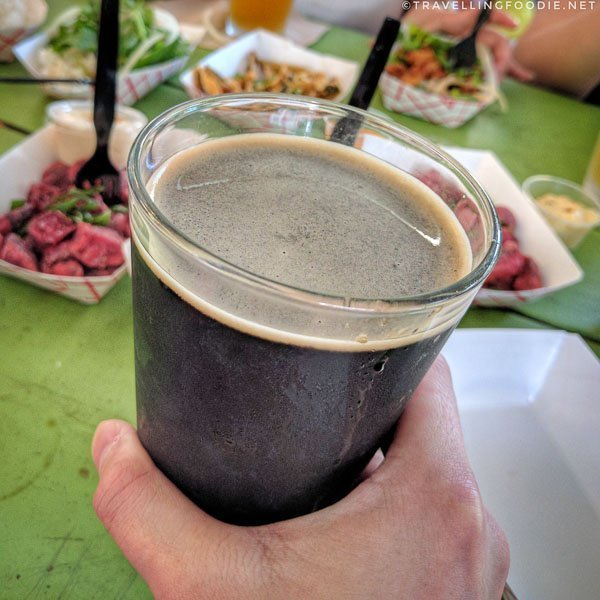 512 Pecan Porter from 512 Brewing Company in Austin, Texas Food Trip