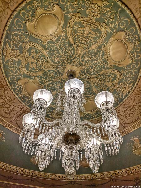 Tiffany Chandeliers at Flagler College in St. Augustine, Florida