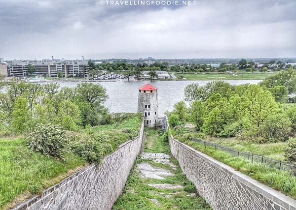 West Branch Ditch Tower at Fort Henry in Kingston, Ontario