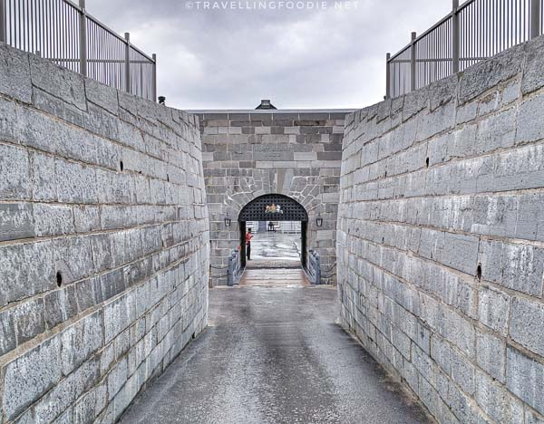 Drawbridge at Fort Henry in Kingston, Ontario
